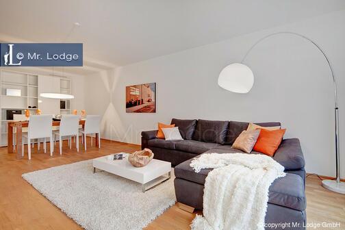 3 habitaciones piso amueblado pantalla plana m nich solln 6504. Black Bedroom Furniture Sets. Home Design Ideas