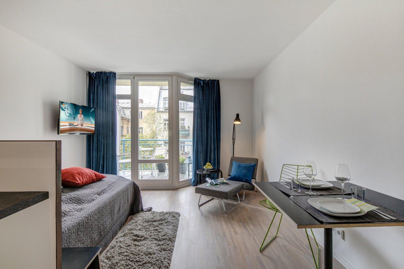 1 habitaci n piso amueblado portero m nich lehel 10542 for Piso 1 habitacion